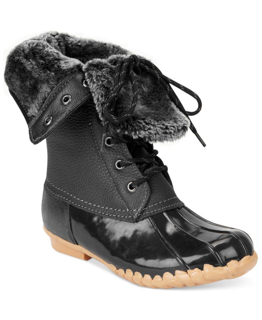 sporto s faux fur booties winter