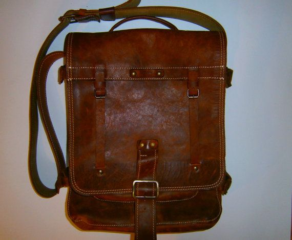 Hey, I found this really awesome Etsy listing at http://www.etsy.com/listing/130752305/laptop-vertical-briefcase-vitage-leather