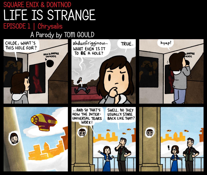 Life Is Strange Tear Photo