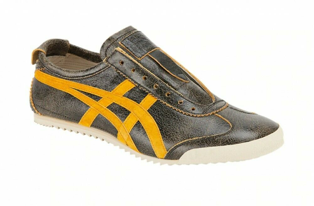 onitsuka tiger mexico 66 slip on black xs