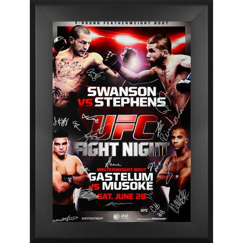 Fanatics Authentic UFC Fight Night Swanson vs. Stephans Framed ...