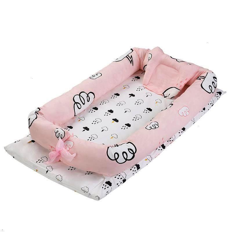 Camerette For Letto Letti Per Bambini Recamara Cama Infantil Lit Chambre Enfant Kinderbet Blush Pink Peach Cream and Gold Diaper Cake with Tutu Photo Little Unicorn Pink...