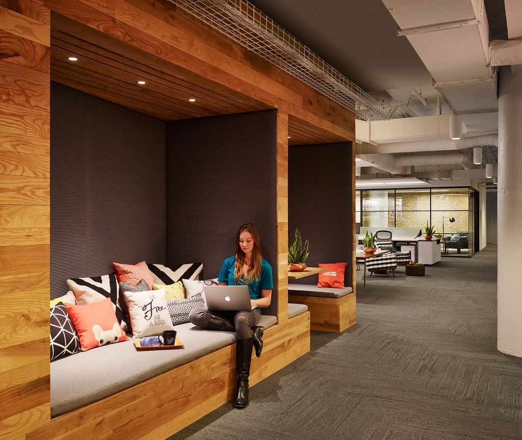 Twitter chicago in 2019 office office decor office - Commercial interior design chicago ...