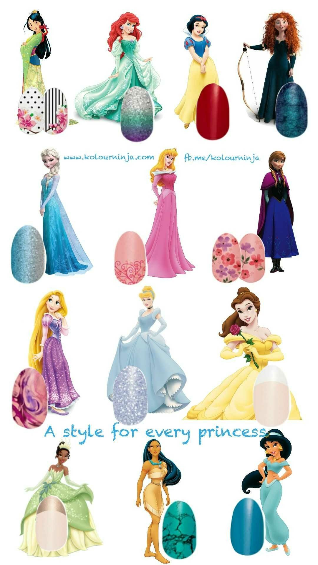 fb.me/kolourninja A Color Street style for every princess. #nails ...