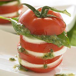 Caprese Salad with Soy Walnut Vinaigrette Allrecipes.com