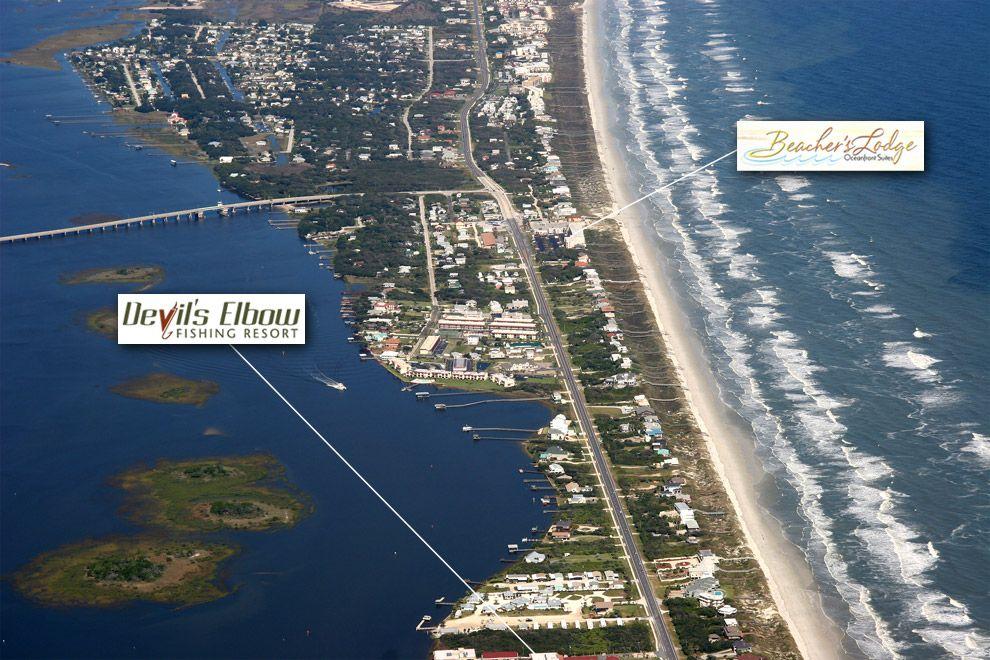 Crescent Beach St Augustin Fl Aerial