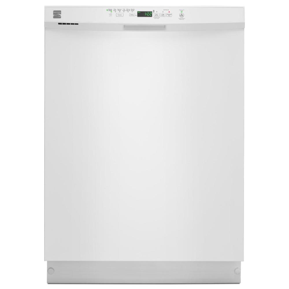 Kenmore 13092 24 Built In Dishwasher W Powerwave Spray Arm