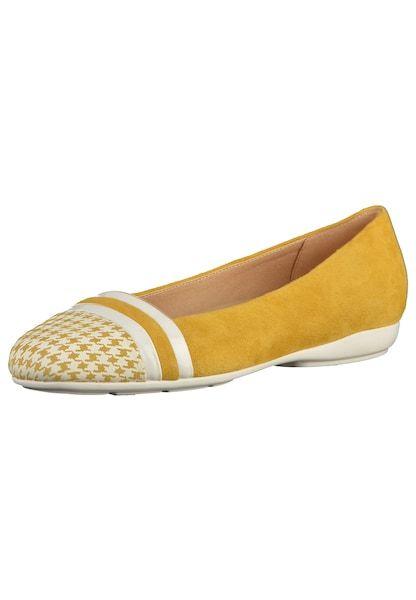 GEOX Ballerinas dunkelgelb weiß #schuhe #fashion #shoes