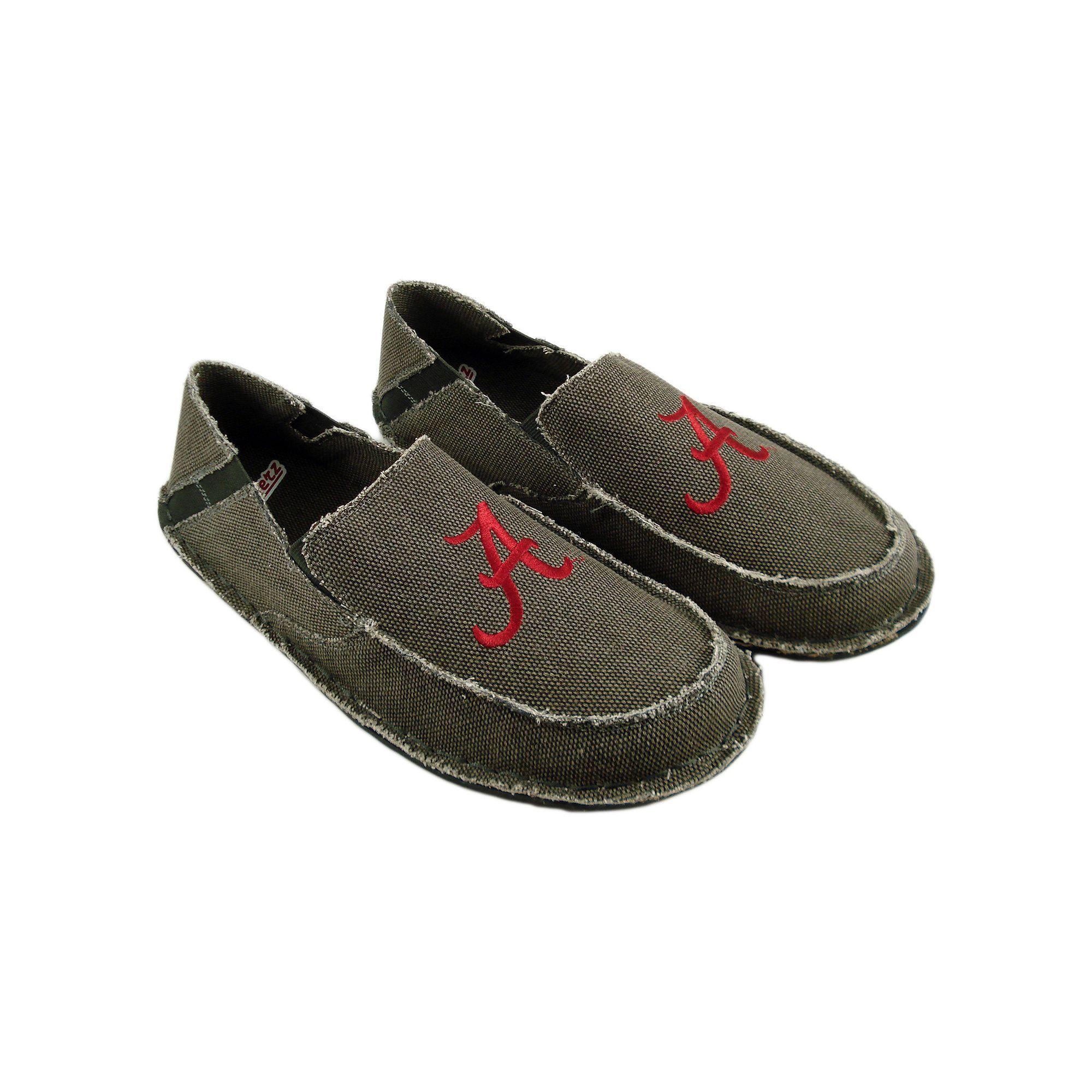 fab5c7d72f0 Mens Alabama Crimson Tide Cazulle Canvas Loafers Size 11