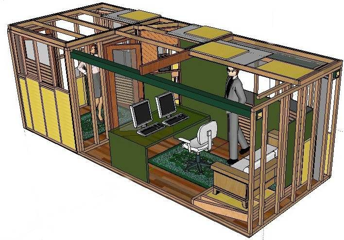 underground shipping container homes |  estúdio em http://www