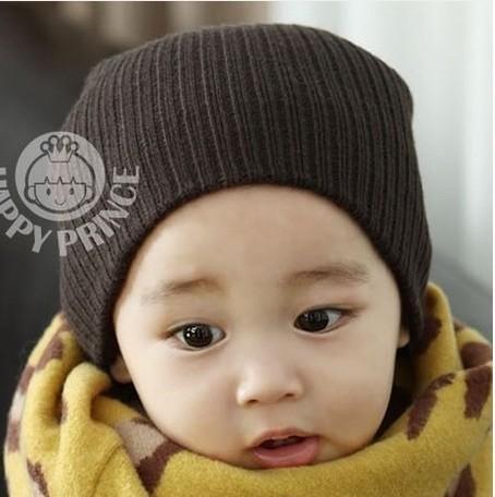d8103aa0e2f DreamShining Baby Hat Kids Newborn Knitted Cap Crochet Solid Children