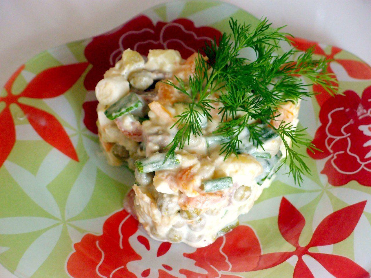 Салат новый русский рецепт