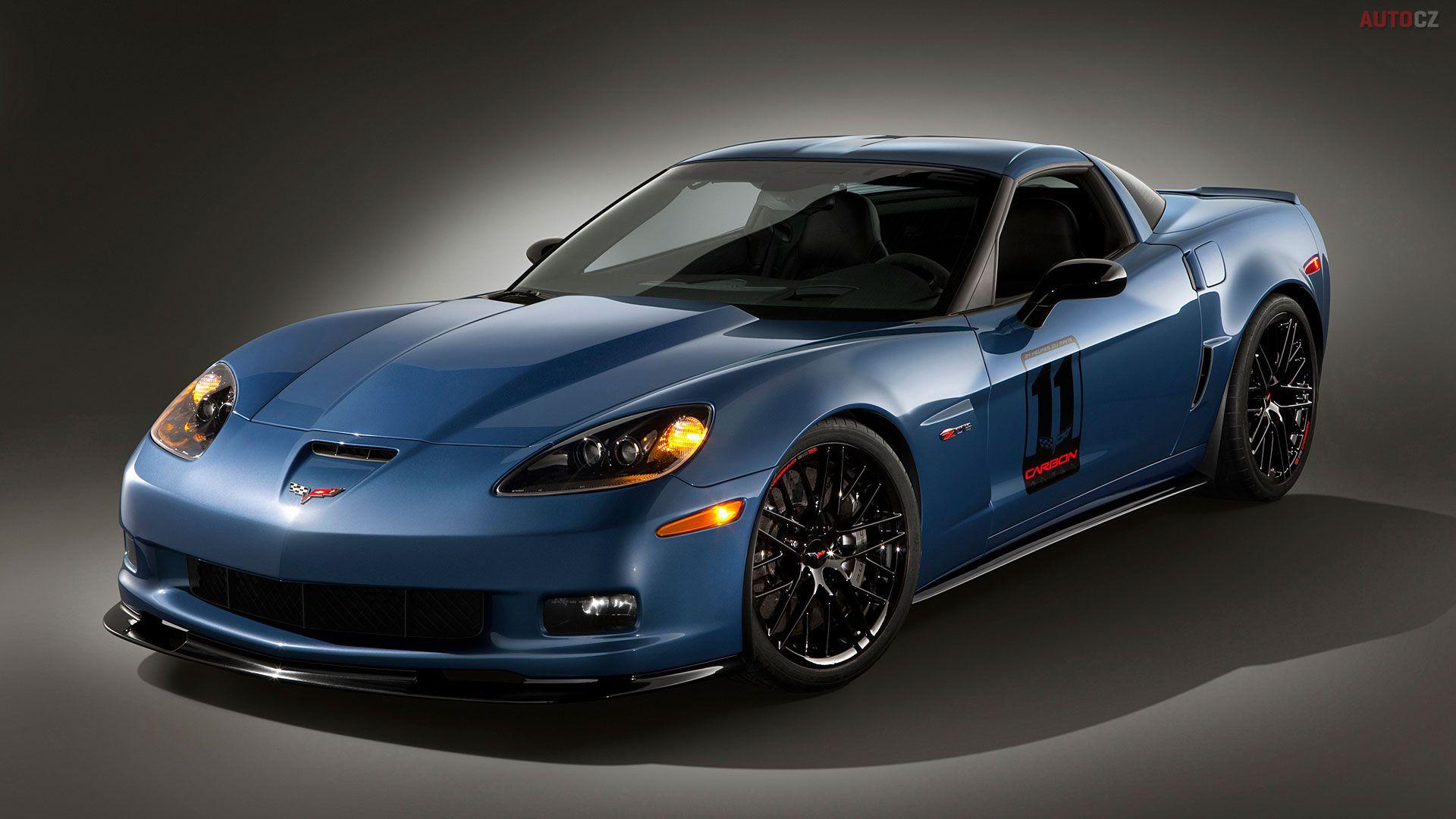 Zo6 Zo7 Blue Sports Cars Luxury
