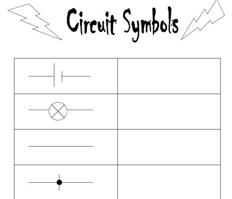 circuit symbols ks2 Teaching Resources Pinterest Circuits