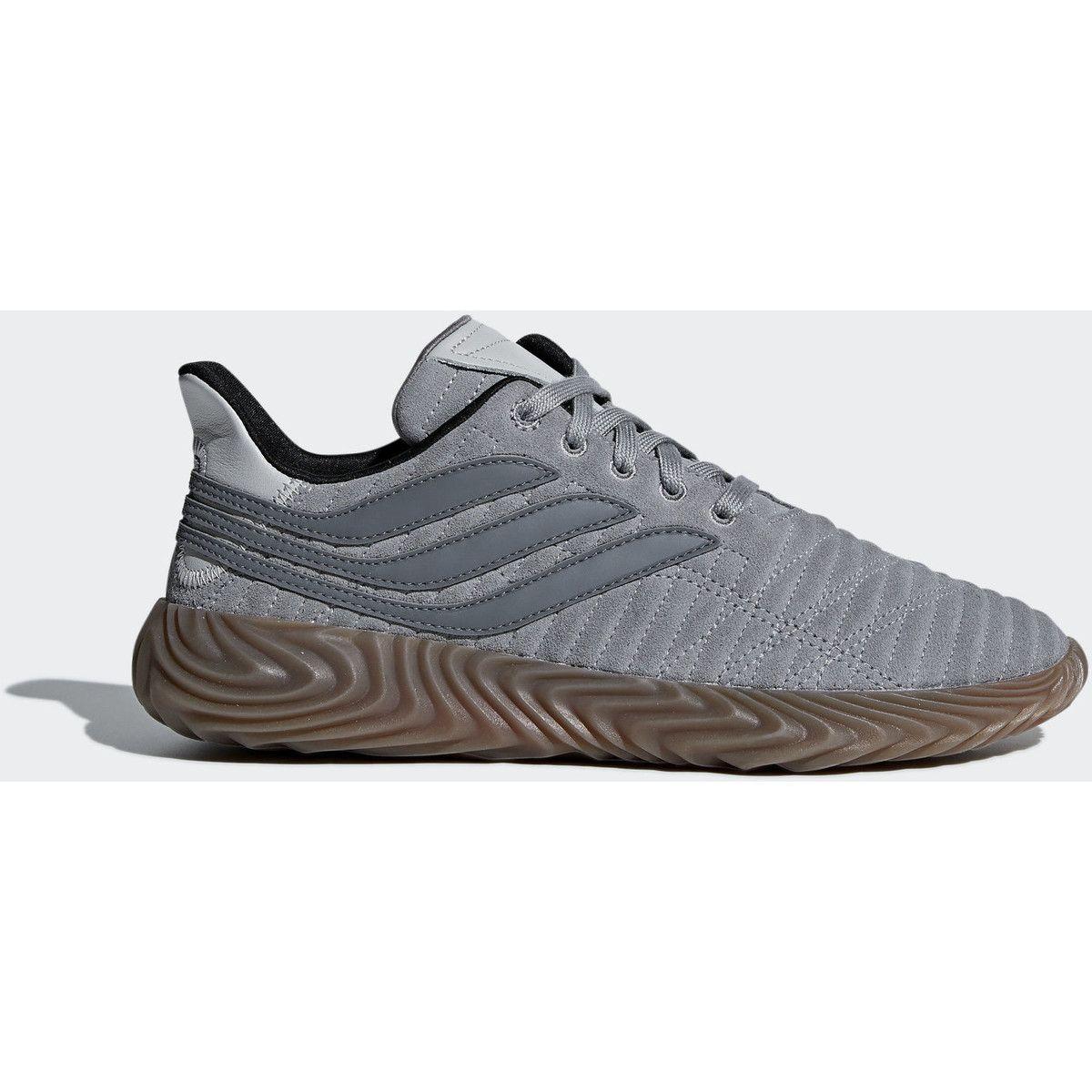 adidas Sobakov Schoenen Lage Sneakers dames. Kleur: Grijs ...