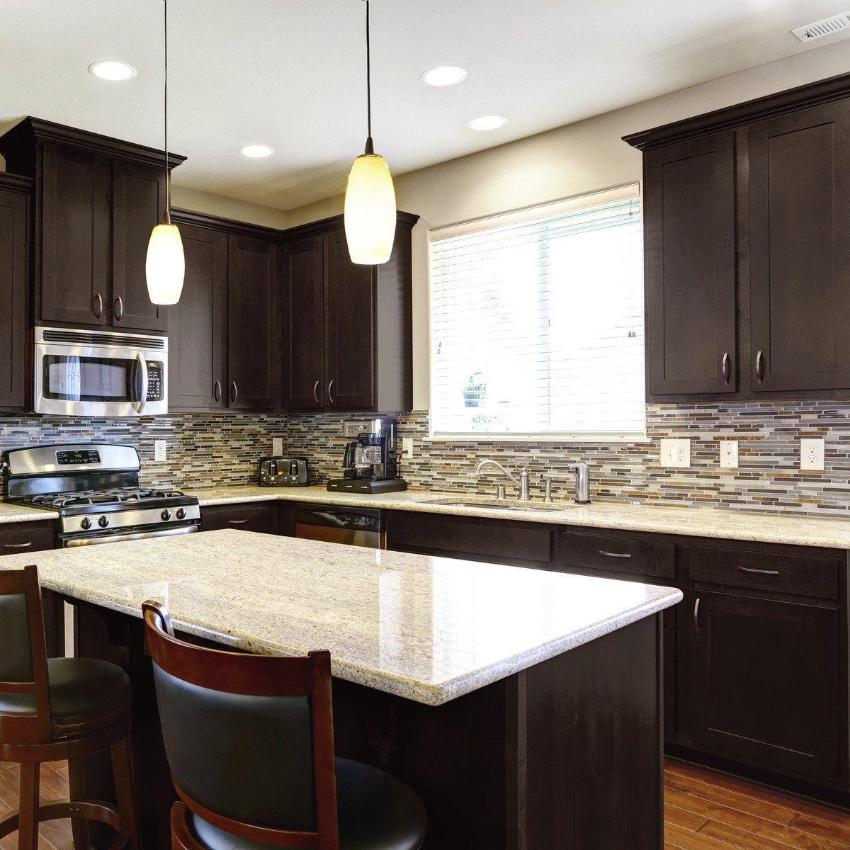 Nuvo Cocoa Couture Cabinet Paint Kit In 2020 Brown Kitchen Cabinets Kitchen Renovation New Kitchen Cabinets