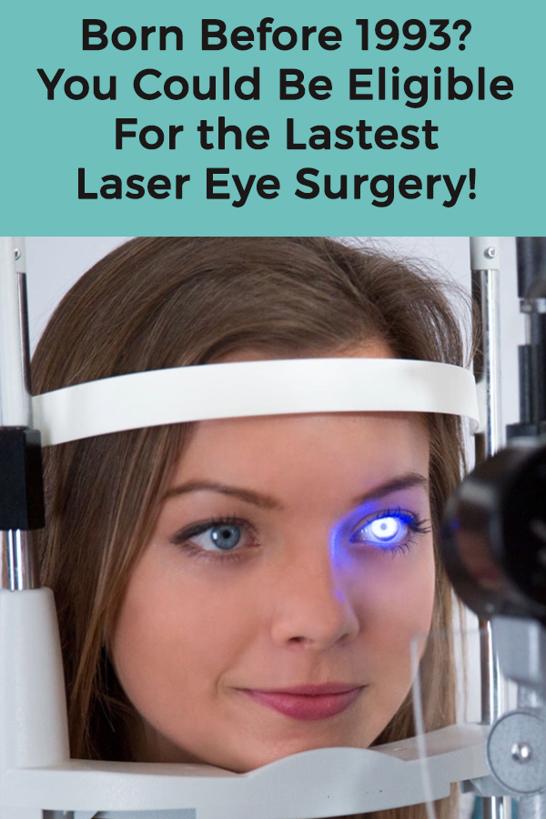 Revolutionary laser eye surgery is taking the UK by storm