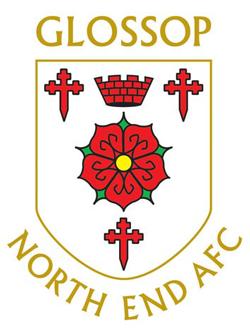 Glossop North End A F C Wikipedia The Free Encyclopedia Glossop Football Team Logos Team Badge