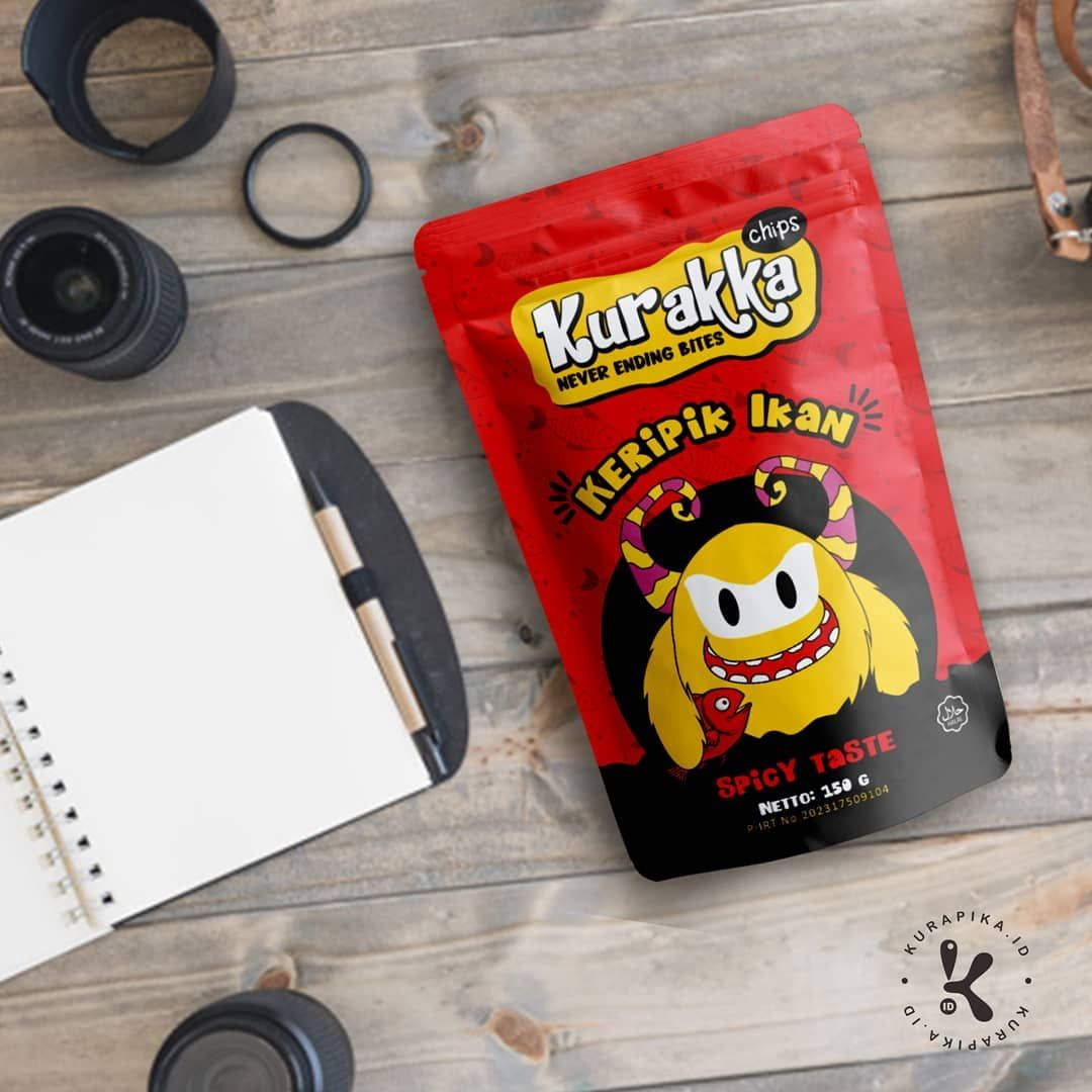 Packaging Design For Kurakka Chips Spicy Packaging Design Packaging Design