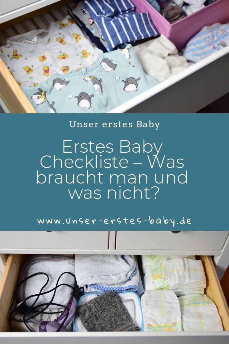 Neugeborenes Checkliste – Was braucht man für das erste Baby und was nicht