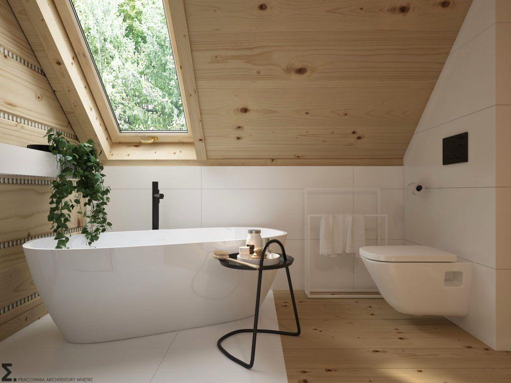 Drewniany minimalistyczny dom | Proj: Elementy | I