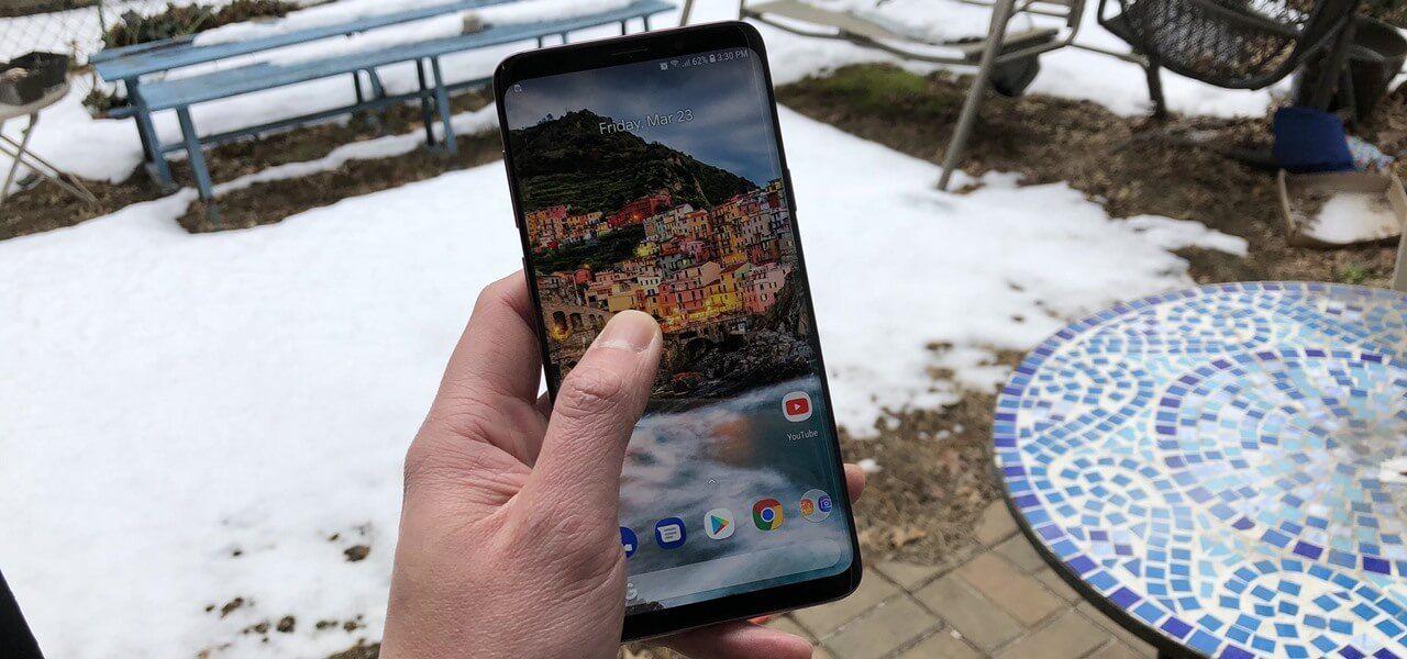 إليك الحل لإيقاف مشكلة المناطق المييتة على شاشة Galaxy S9