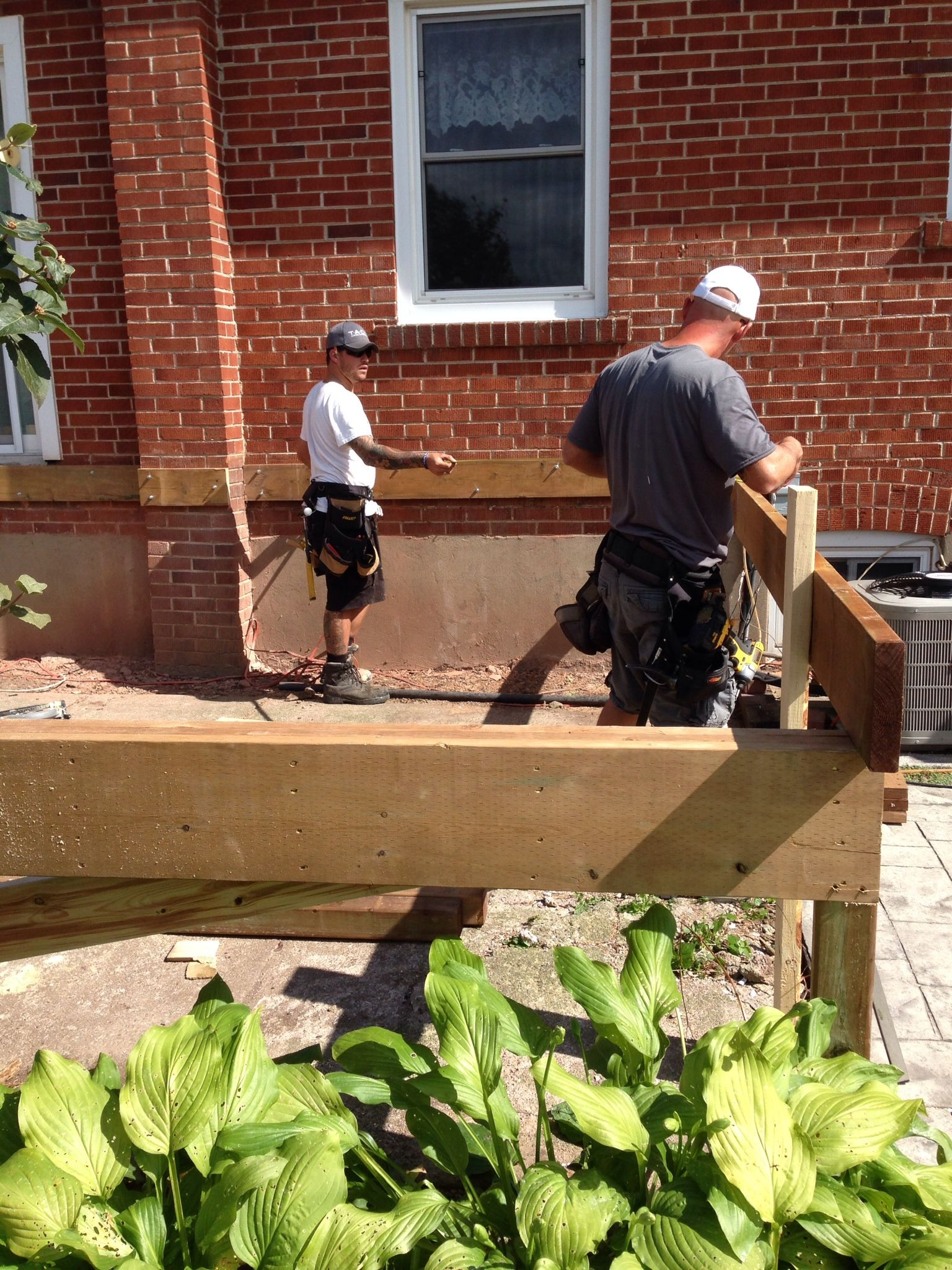 Evan And Chad Squaring Up New Deck New Builds