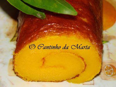 O Cantinho da Marta: Torta de Laranja do Marco