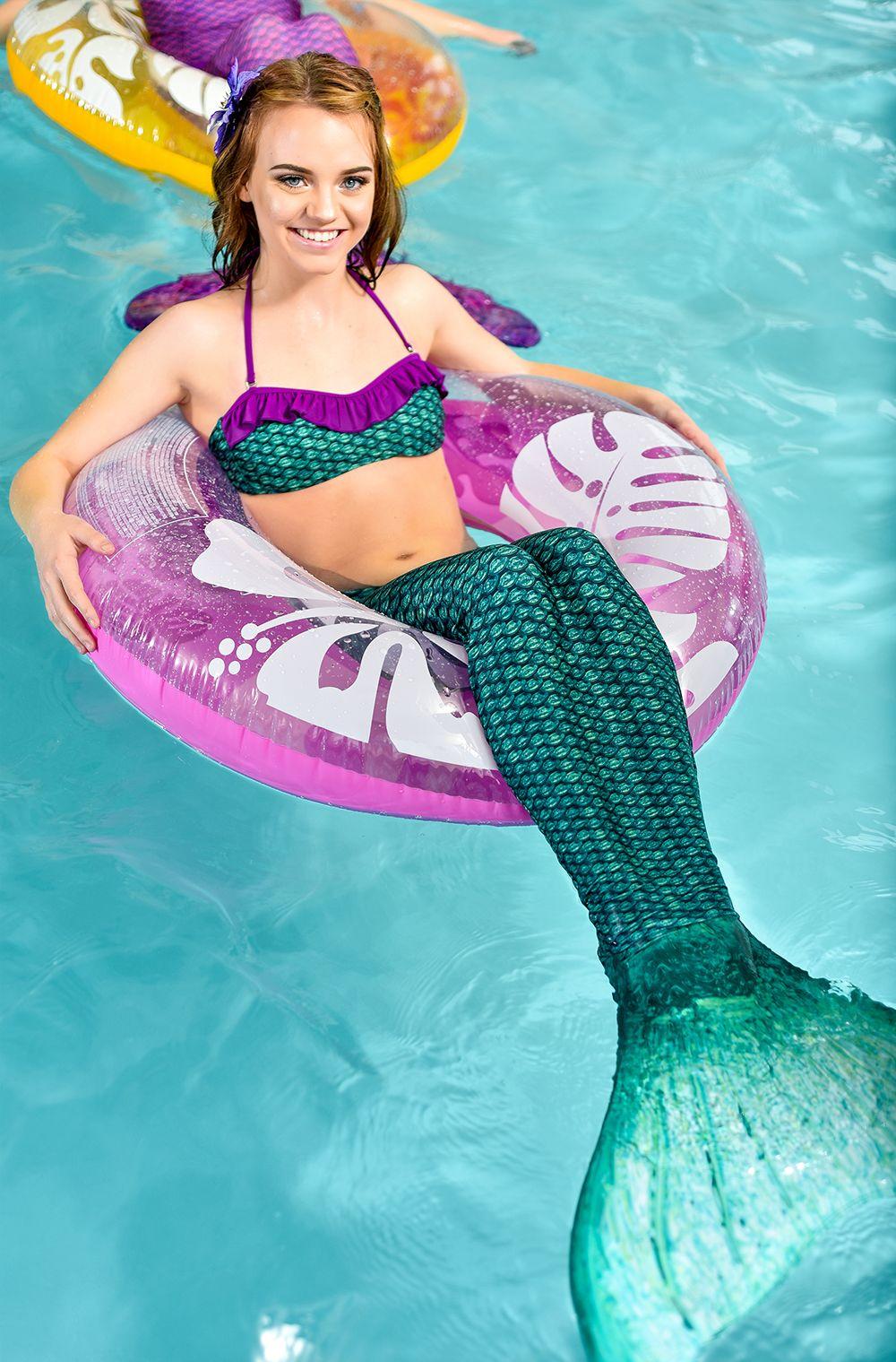 brynn u0027s celtic green mermaid tail for kids u0026 adults by fin fun
