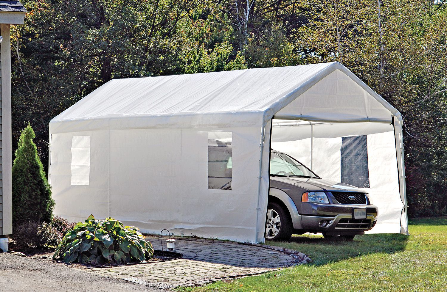 Portable Garages And Car Canopies Carport Canopy Portable Garage Garage Canopies