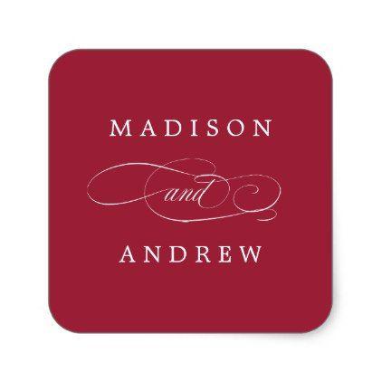 Beloved Personalized Wedding Stickers Pinterest Wedding