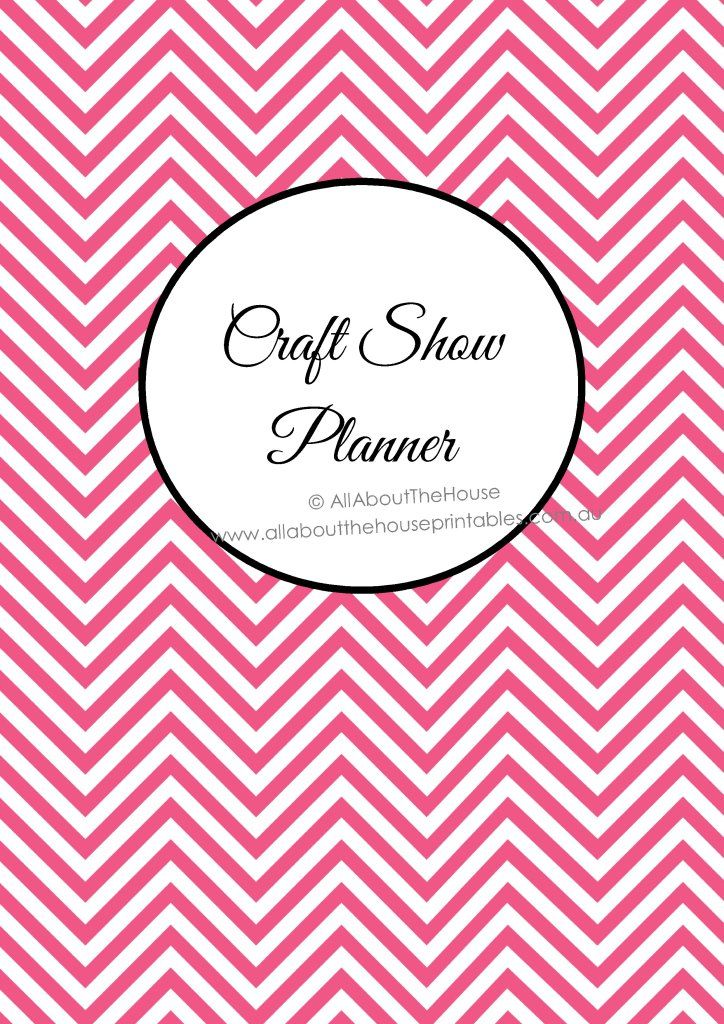 Printable Craft Show Planner for Handmade Markets and Trade Shows - printable order form