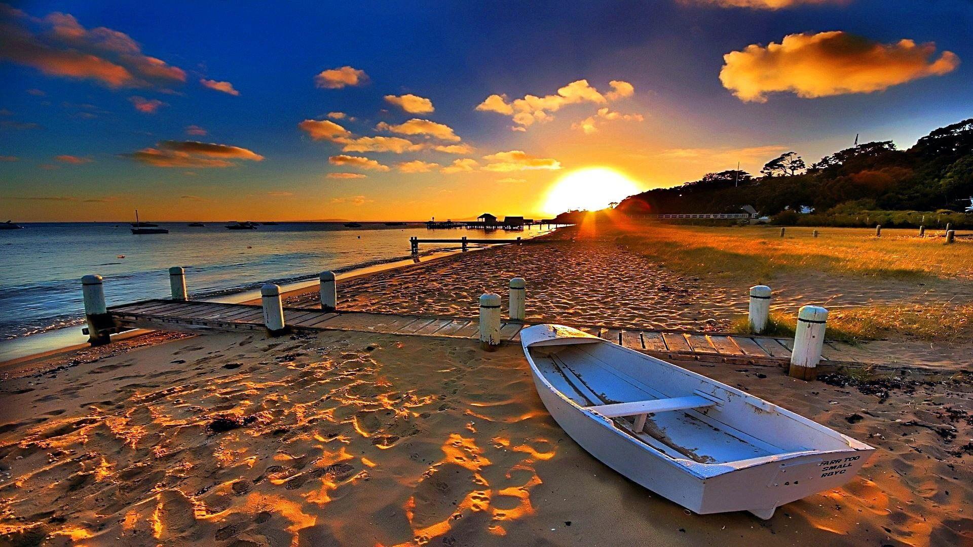 Sky Sunset Shore Sea Horizon Cloud Water Sunray Coast Beach Evening Ocean Australia 1080p Beach Sunset Wallpaper Beach Wallpaper Sunset Wallpaper
