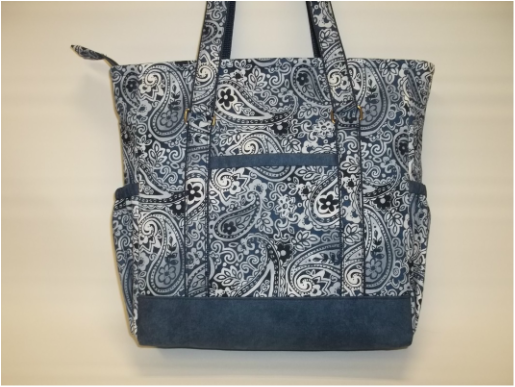 41237c0c12e2 Mini Professional Tote by The Creative Thimble This is a great pattern and  the I love the finished result!