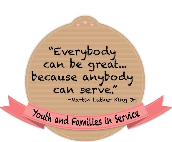 Everyone Can Serve