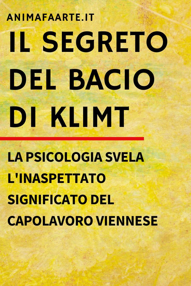 Frasi Di Klimt Sulla Vita.Il Segreto Del Bacio Di Klimt Klimt Lezioni Di Storia Dell Arte Arte Del Bacio