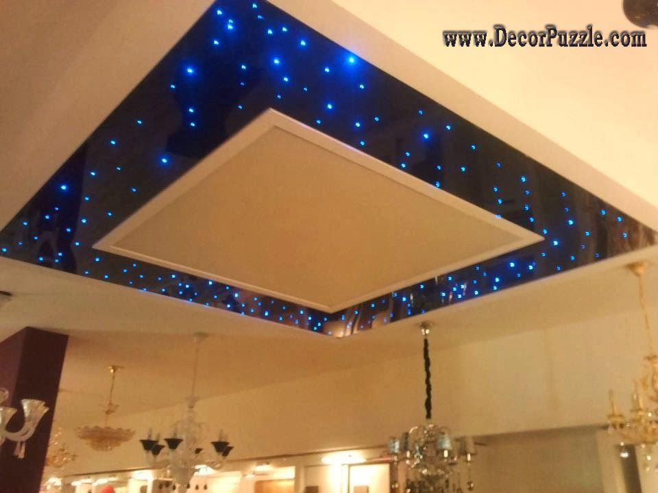 Combined Ceiling Starry Sky Lights, Best Ceiling Design Ideas
