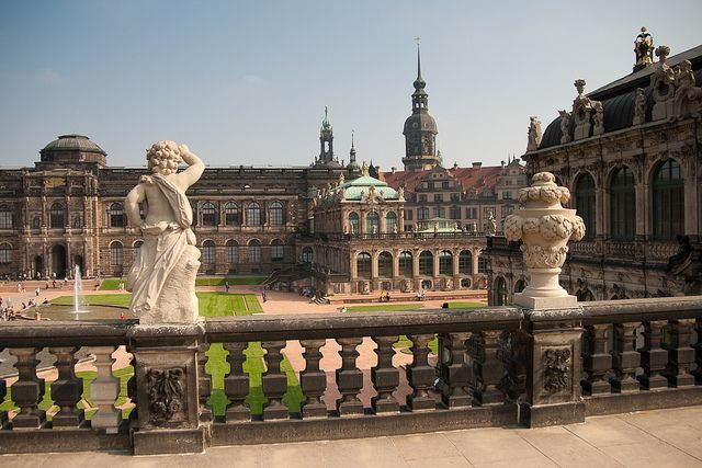 Zwinger Palace In Dresden Germany By Redstone