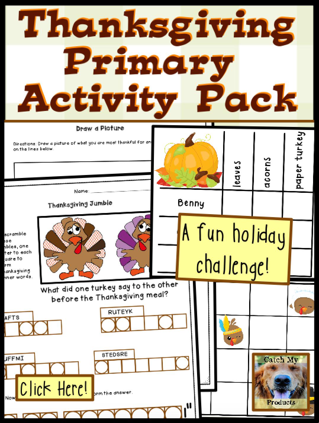 Thanksgiving Activities Brain Teasers And Logic Puzzles