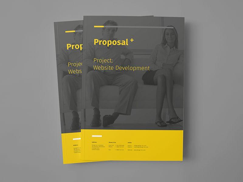 Proposal Design Proposals, Brochure template and Brochures - microsoft proposal templates