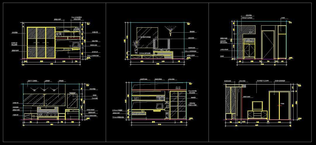 Master Bedroom Design CAD Blocks