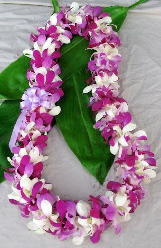 Fresh Orchid Leis Fresh From Hawaii Flower Garland Wedding Orchid Lei Garland Wedding