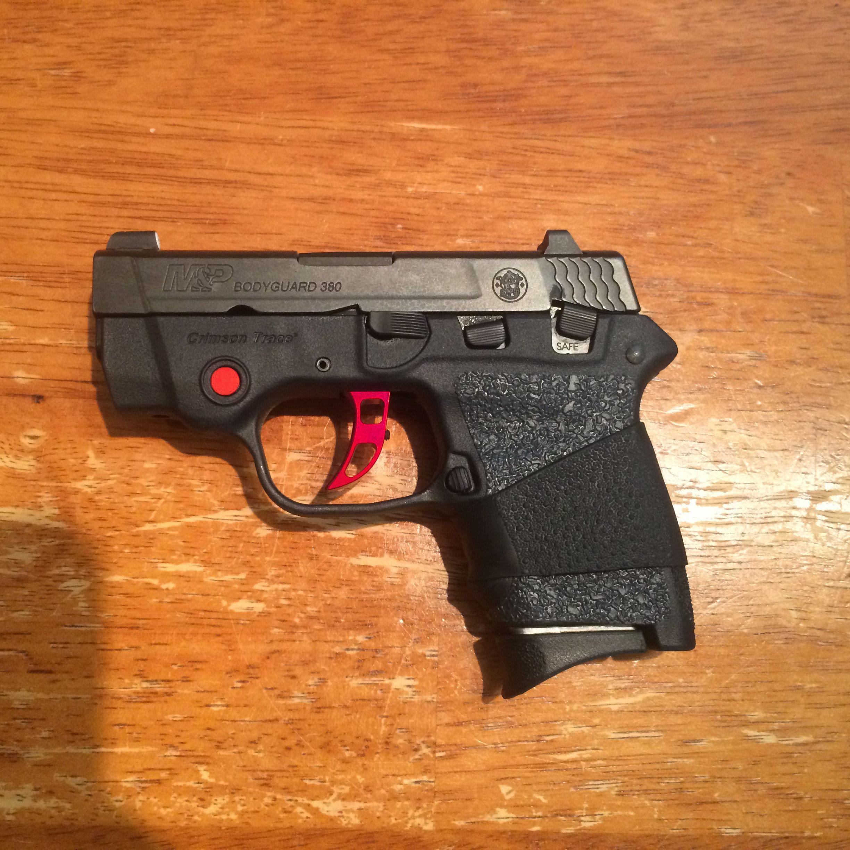 Smith & Wesson M&P BODYGUARD® 380 Crimson Trace® Galloway Precision ...