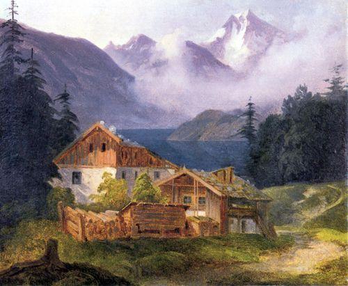 Stifter, Adalbert: Bauerngehöft am Bergsee