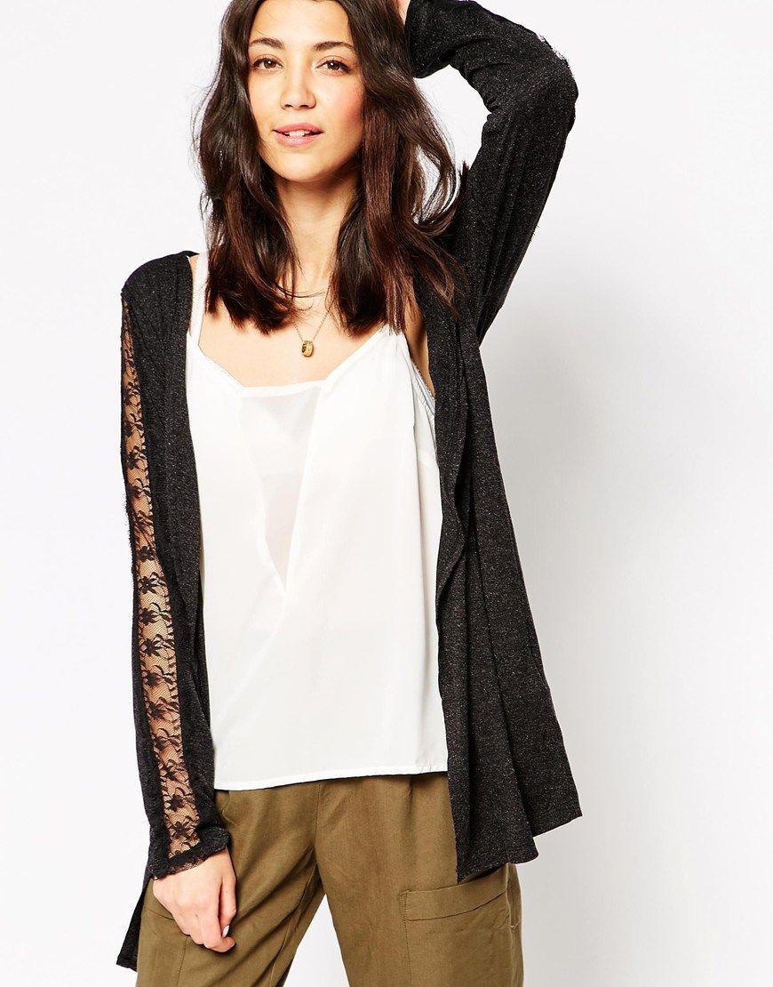 Vero Moda Long Sleeve Drapy Cardigan | Wishlist Vestes | Pinterest ...