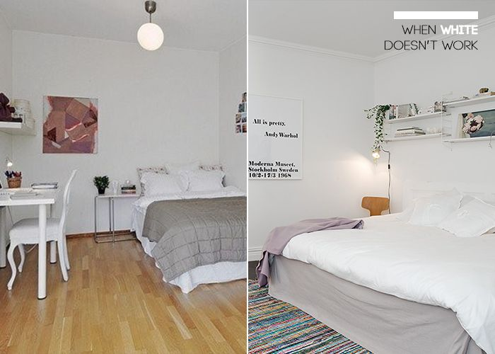 Bedroom Paint Design When Painting A Small Room White Doesn't Work And Neutral Paint