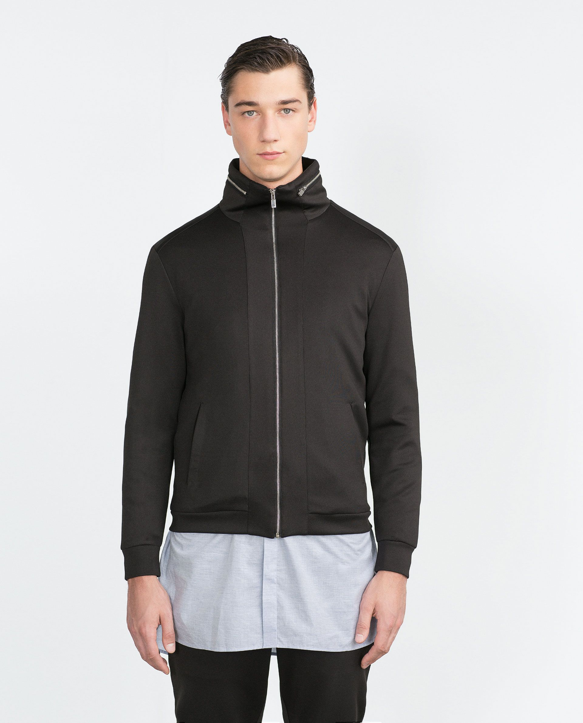 TECHNICAL JACKET View all Jackets MAN Zara