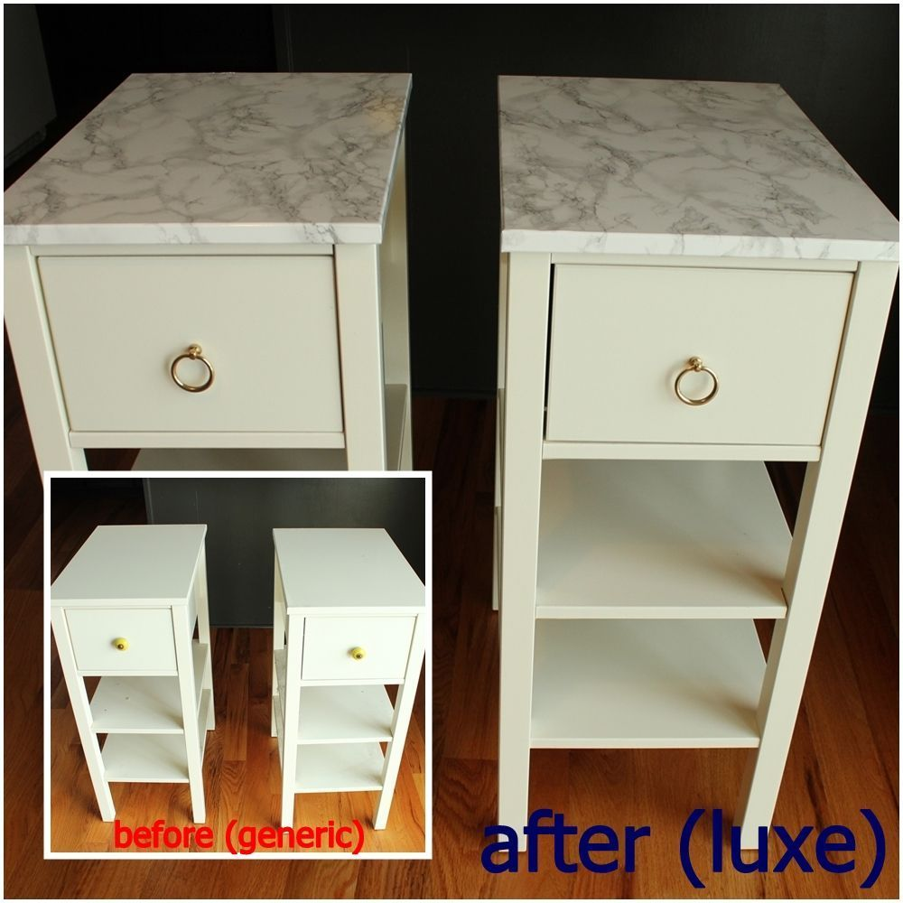 Diy Nightstand Upgrade With Marble Contact Paper Bedroom Design Diy Diy Nightstand Diy Marble Contact Paper