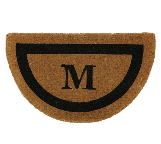 Personalized Framed Doormat Up To 3 Letters Door Mat