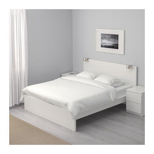 Malm Bed Frame High Full Ikea Malm Bed Frame White Bed